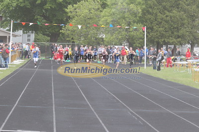 UP Boys' 100 Meter Dash - 2015 MHSAA TF Finals