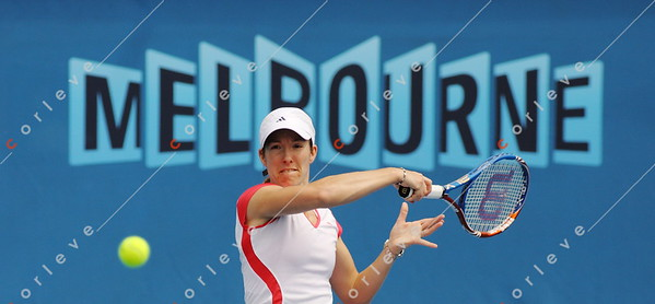 Justine Henin (Practice)