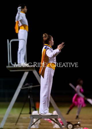 Broughton varsity football vs Cardinal Gibbons. Band and Dance Team Senior Night. October 25, 2019. D4S_1888