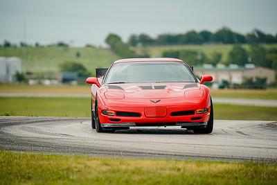Red C5 Corvette Z06