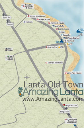 Lanta Old Town Map