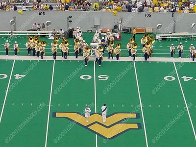 WVU vs Miami - Halftime Formations