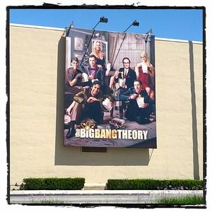 2014 0401 Jen's Birthday - Big Bang Theory Taping at WB