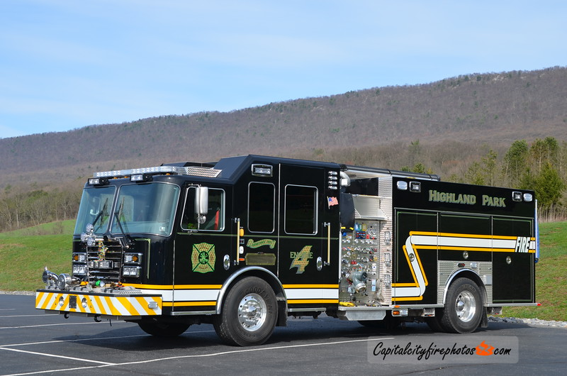 Highland Park Fire Co. (Derry Township) Engine 4: 2017 KME Predator 1500/960/20/20
