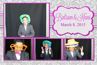 Balsam & Hani's Wedding