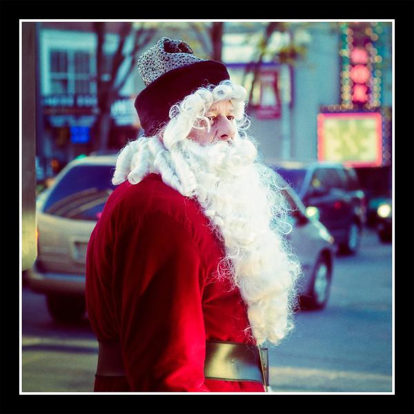 Phony Santa Hat