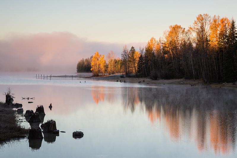 Alder Lake Park Sunrise