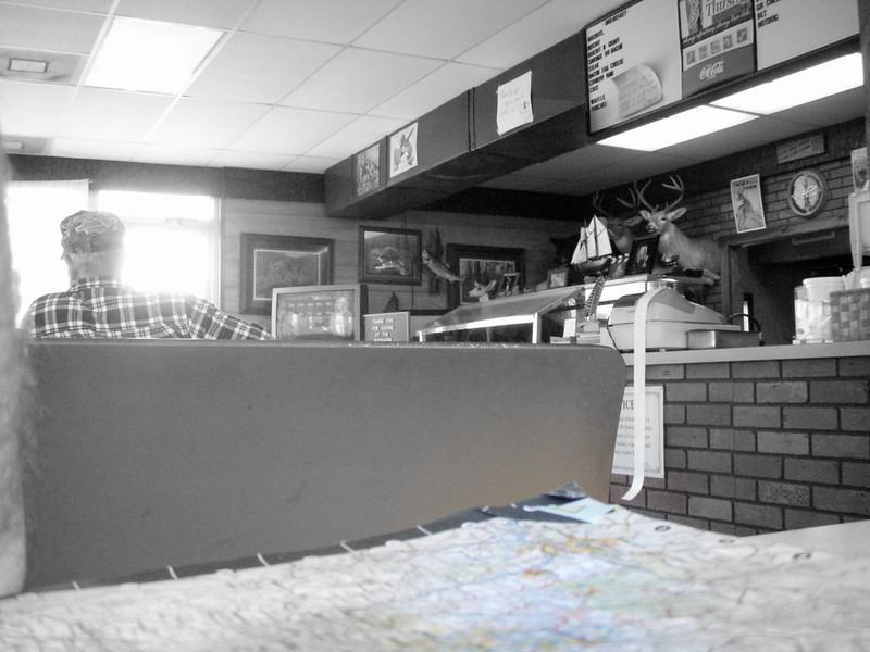 The diner at Morganton, GA