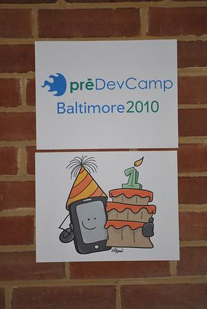 Baltimore Predevcamp 2010