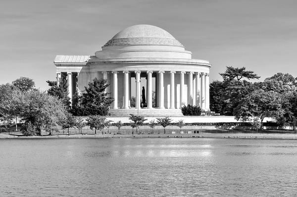 Washington DC in Black & White