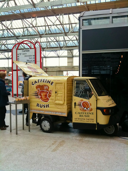 Ape coffee shop at Carlisle station
