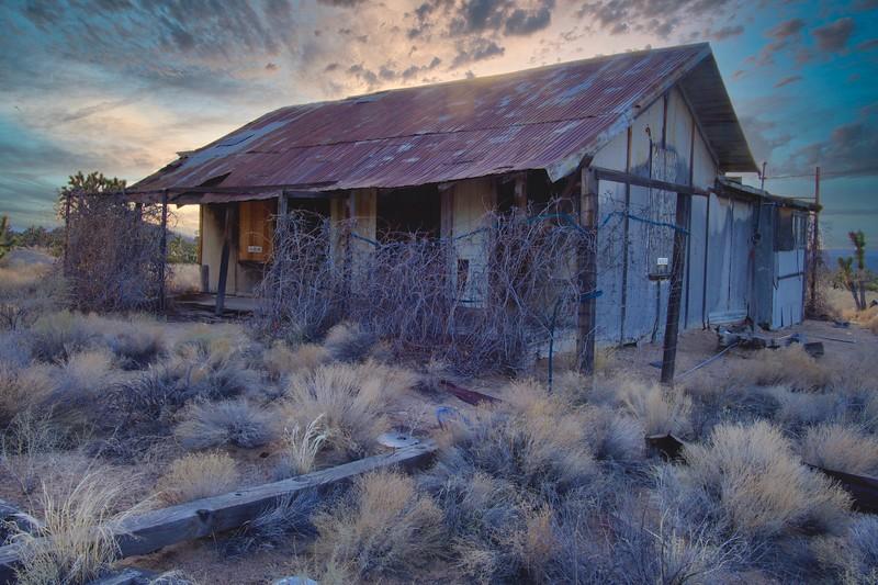 Death Valley mine structure