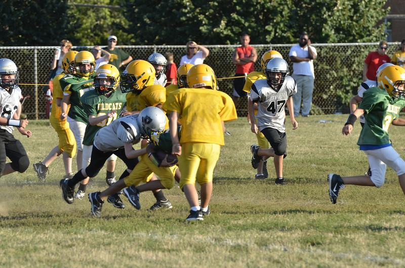 Wildcats vs Raiders Scrimmage 087.JPG