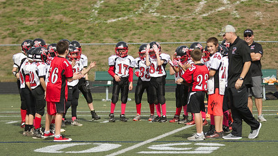 JV Pee Wees Warriors at Plymouth South 2016