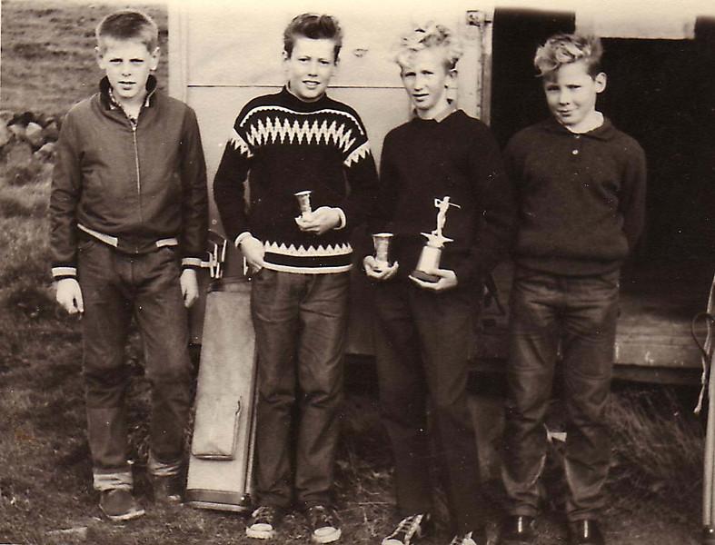 Unglingamót hjá GR - 1963.