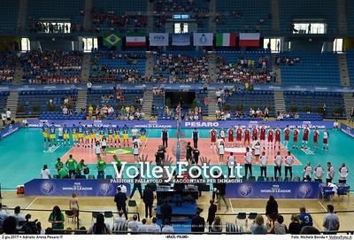 «BRAZIL - POLAND» #FIVBWorldLeague