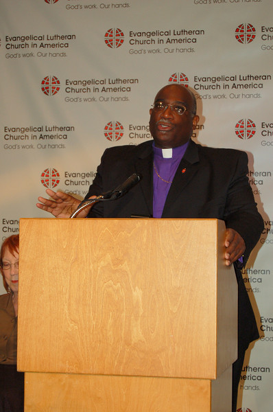 Bishop Gregory Palmer, president, Council of Bishops, United Methodist Church