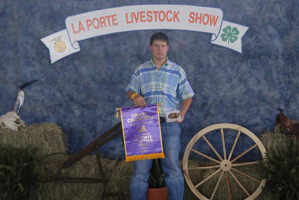 2007 La Porte Livestock Show and Rodeo Assoc Award shots (3-26-07)