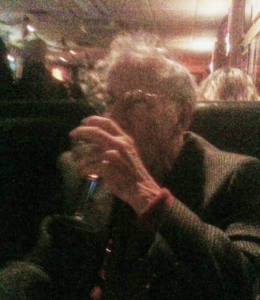 Larry Lebin at Franco's restaurant in Williamsport PA. March 5 2011