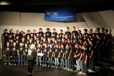 2016 European Middle School Honor Boys' Choir