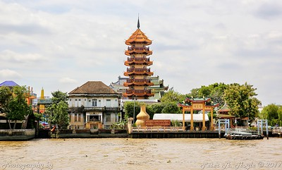 Thailand  03 - Oct 2017 (On the river)