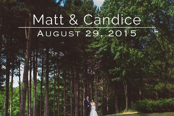 Candice & Matt