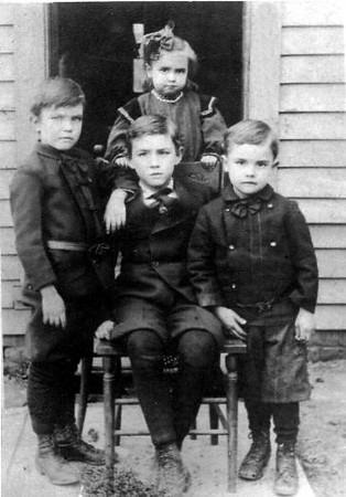 The James Gang, Everett, Alva, Frank and Annabelle