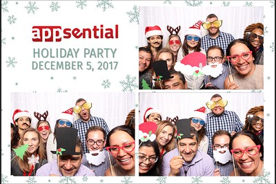 Appsential Holiday Party 2017 Photo Booth