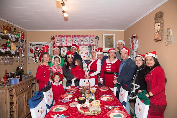 Family Christmas celebration, 2016