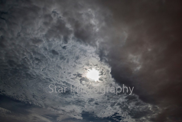 Moon and Clouds 07-22-13