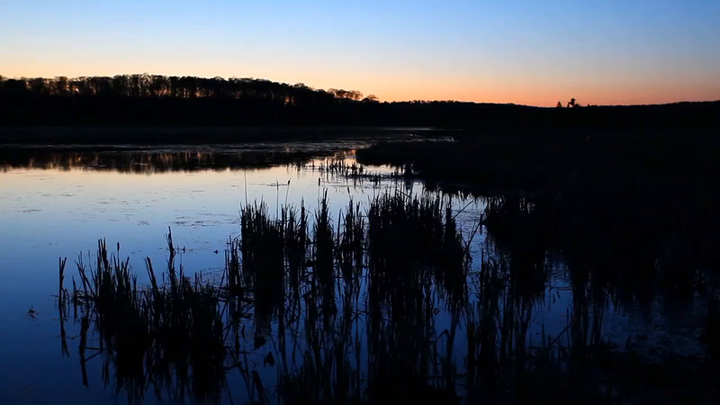 Getting Dark - Aurora Lake (Northern Highland American Legion State Forest - Wisconsin)