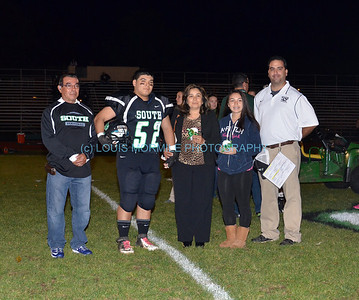SPHS SENIOR NIGHT NOV. 1, 2013