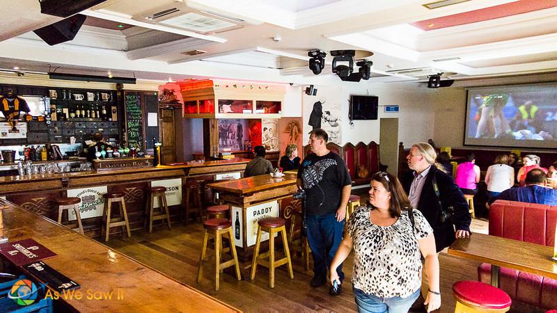 Interior of Lanigan's in Kilkenny