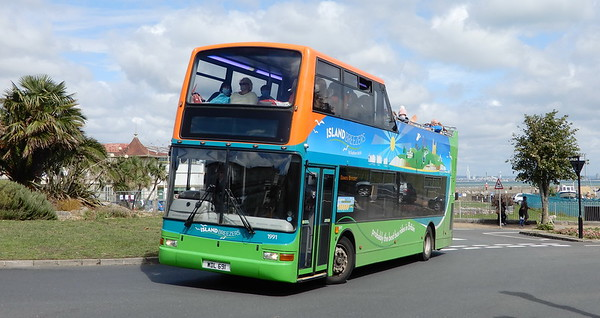Volvo B7TL (new to Southern Vectis)