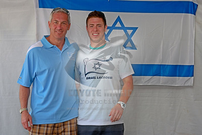 5/28/2012 - Israel Lacrosse tent at the NCAA Tournament Tailgate - Gillette Stadium, Foxborough, MA