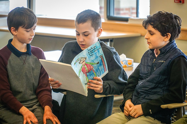 Storytime with the Sixth Graders