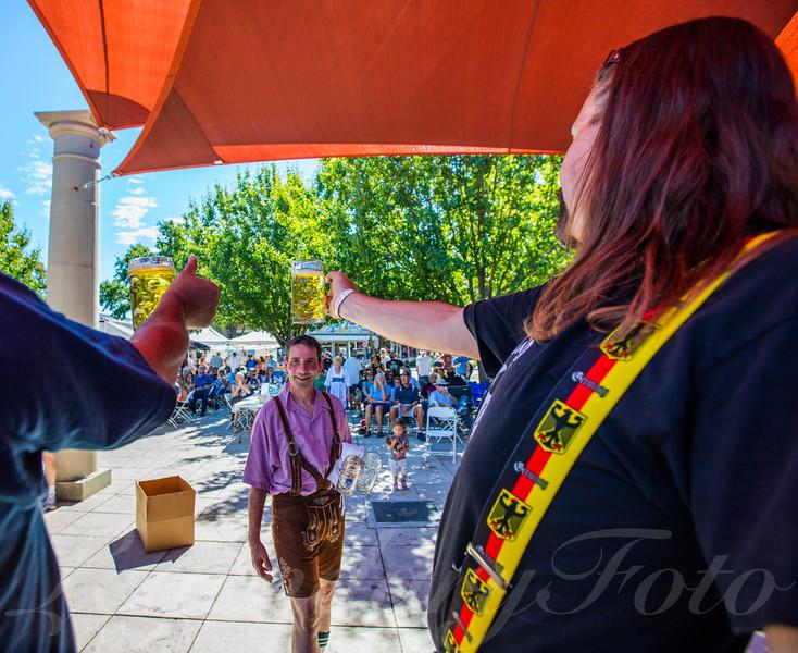 Beer Contest at Oktoberfest 2015