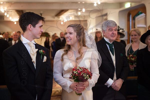 Sophie & Tim's wedding day, Trinity House, Cambridge