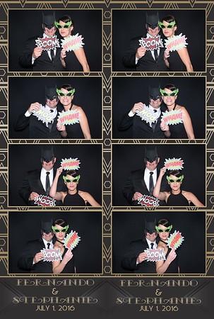 Fernando & Stephanie 7/1/2016