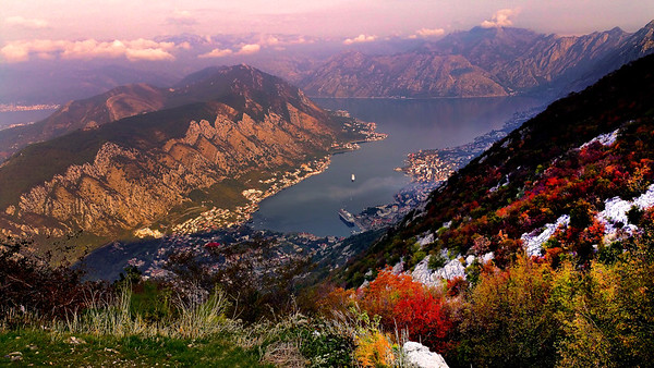 Discover the Old Town and Mountain Vistas of Kotor Montenegro
