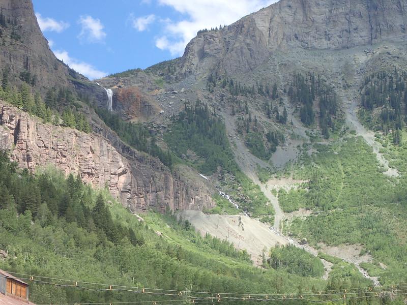 A few front views  of Black Bear Pass