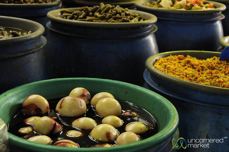 Pickled Vegetables at La Vega Market - Santiago, Chile
