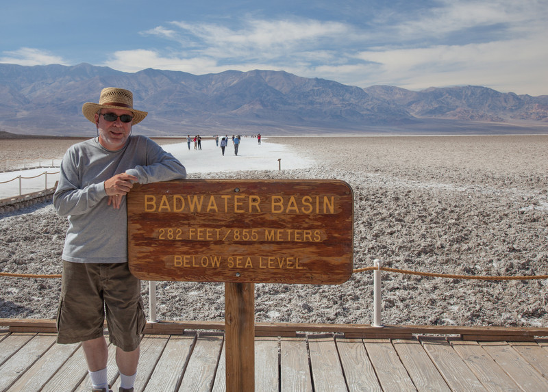 Bob at Badwater Basin