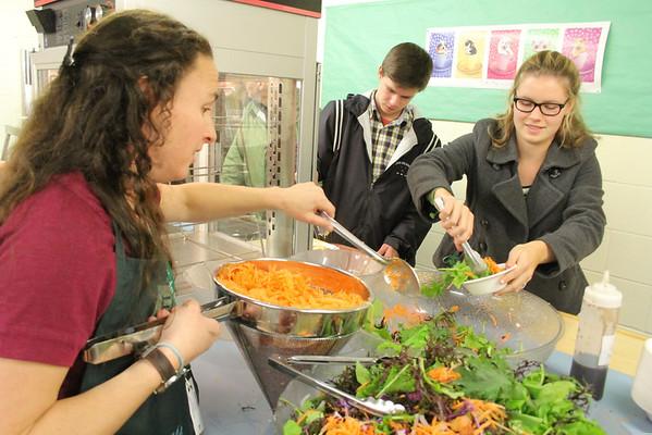 Woodstock Farm to School, Dinner