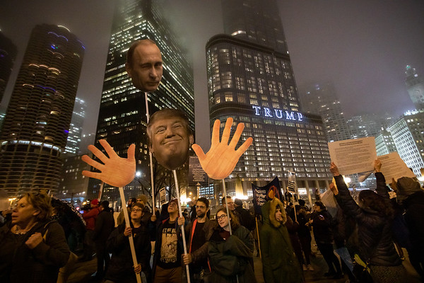 Inauguration Day Protest - Chicago - January 20th 2017