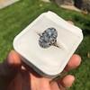 1.75ctw Edwardian Toi et Moi Old European Cut Diamond Ring  76