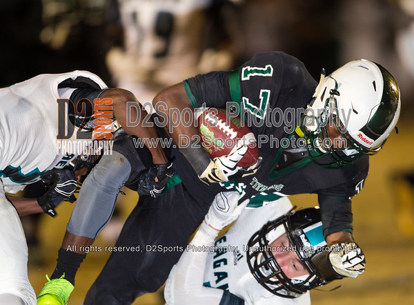 West Forsyth Titans vs Reagan Raiders Varsity Football 10/23/2015