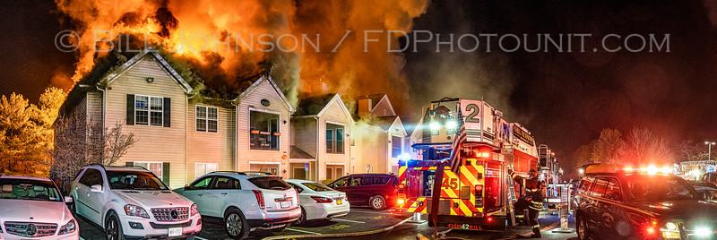 Structure Fire Jefferson at Merritt - Maxx Way - Village of Fishkill FD 4/18/21