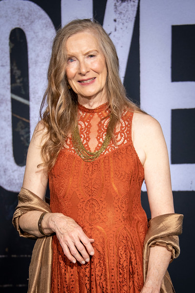 """HOLLYWOOD, CALIFORNIA - SEPTEMBER 28: Frances Conroy attends the premiere of Warner Bros Pictures """"Joker"""" on Saturday, September 28, 2019 in Hollywood, California. (Photo by Tom Sorensen/Moovieboy Pictures)"""