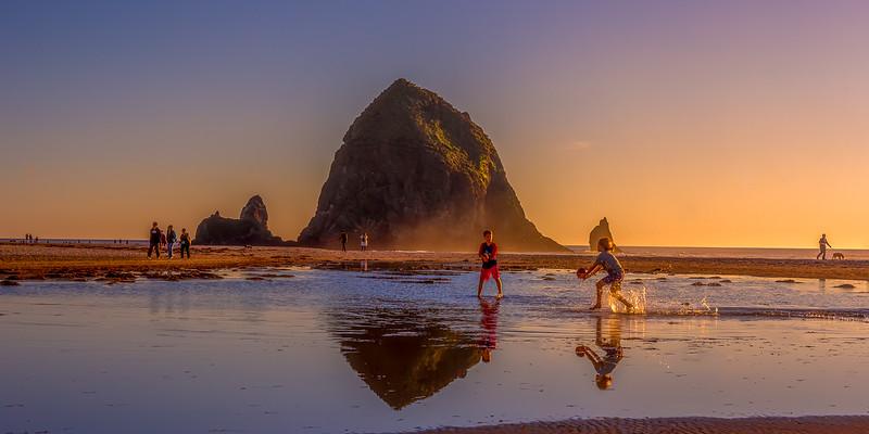 Sunset on Canon Beach